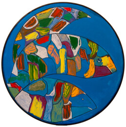 Fish Bowl Carmel Whittle Lineage Arts Gallery Ottawa