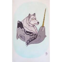 Animals of Nunavut Naqsuqtuq Pee Lineage Arts Gallery Ottawa