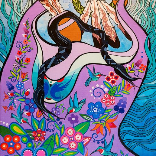 Pamela Cailloux Lineage Arts Gallery Ottawa