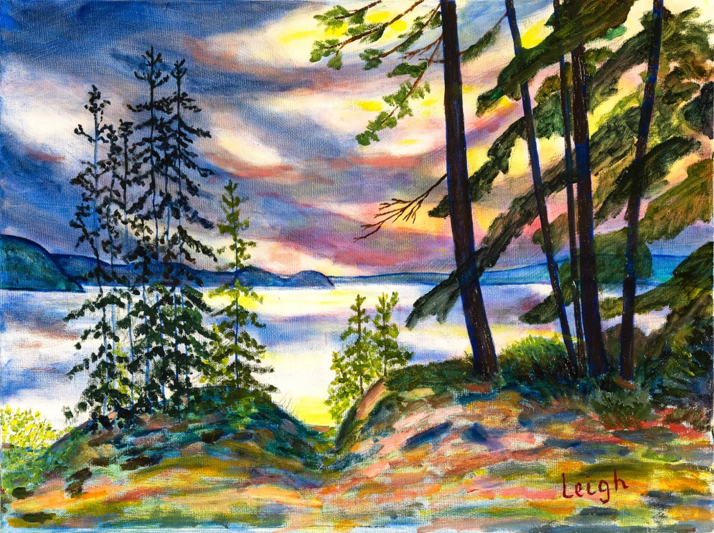 After the Storm, at Booth Lake, Algonquin Park Luis Leigh Guillermo Lineage Arts Gallery Ottawa