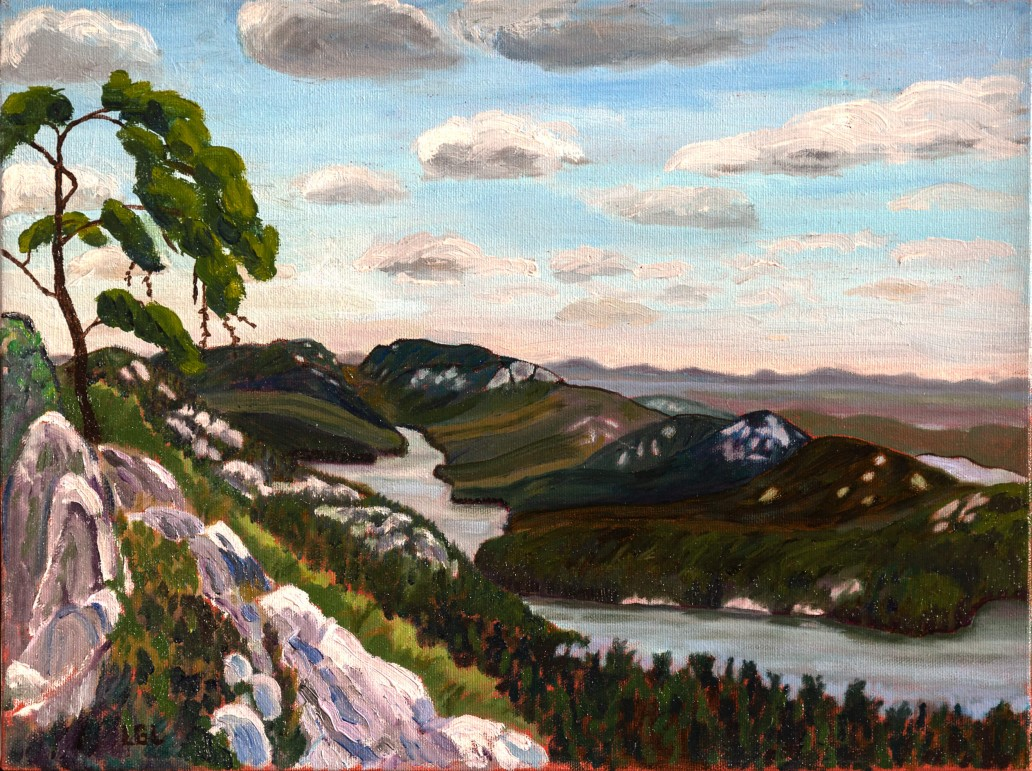 Frood Lake -Edge of Killarney Park Luis Leigh Guillermo Lineage Arts Gallery Ottawa