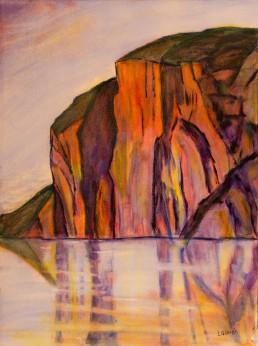 Mazinaw Rock at Bon Echo Luis Leigh Guillermo Lineage Arts Gallery Ottawa