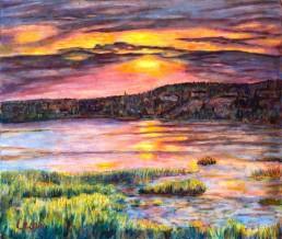 North Rustico Bay, P.E.I. Luis Leigh Guillermo Lineage Arts Gallery Ottawa