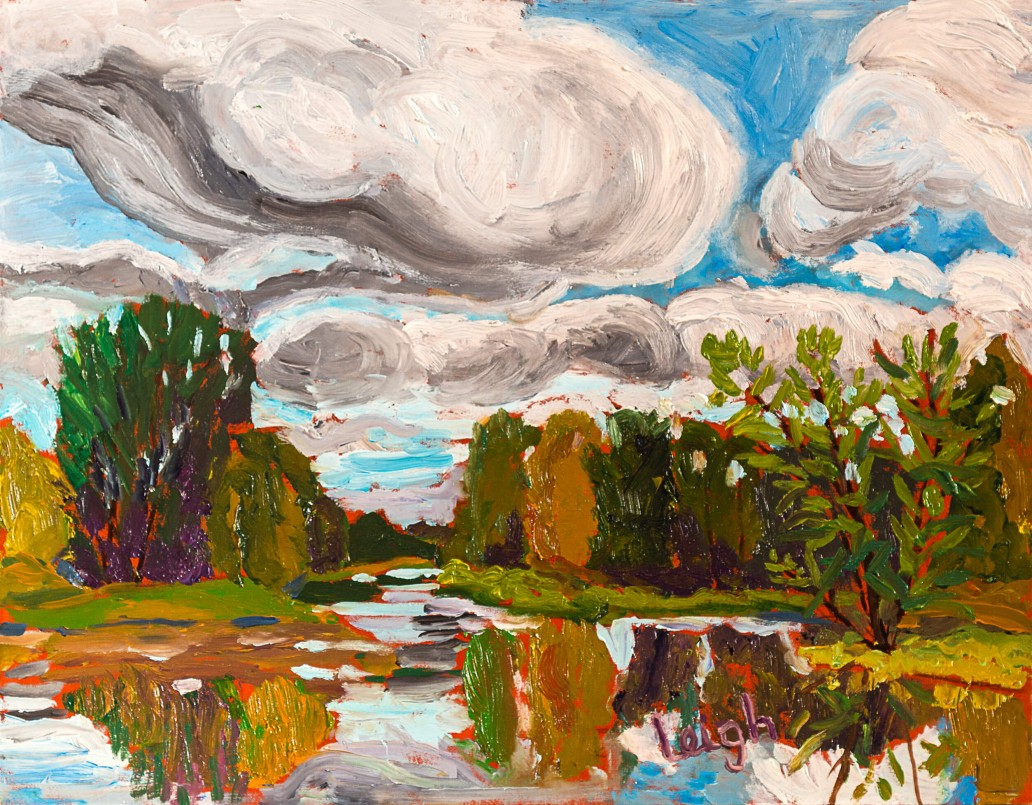 Petrie Island - Inland side Luis Leigh Guillermo Lineage Arts Gallery Ottawa