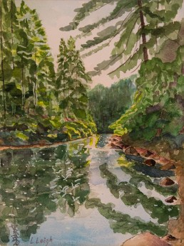Pog Lake- Algonquin Park Luis Leigh Guillermo Lineage Arts Gallery Ottawa