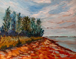 Queen's Point(N view), P.E.I. Luis Leigh Guillermo Lineage Arts Gallery Ottawa
