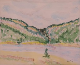 The Notch_ at Murray Lake - Killarney Park Luis Leigh Guillermo Lineage Arts Gallery Ottawa