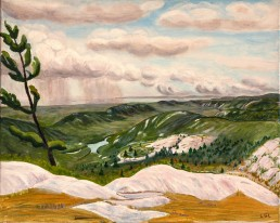 View from Silver Peak, Killarney Park Luis Leigh Guillermo Lineage Arts Gallery Ottawa